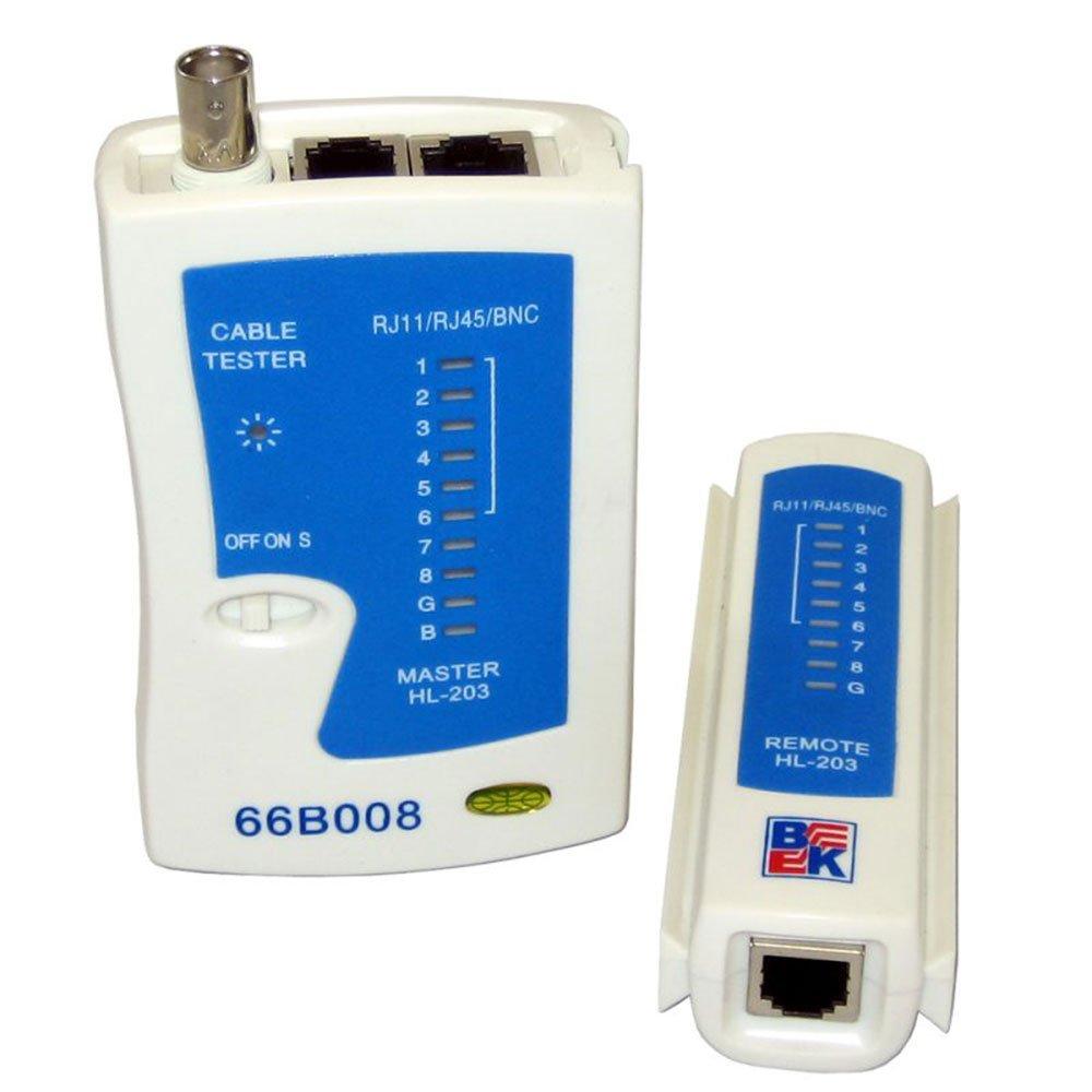 RJ11/RJ45/BNC Cable Tester