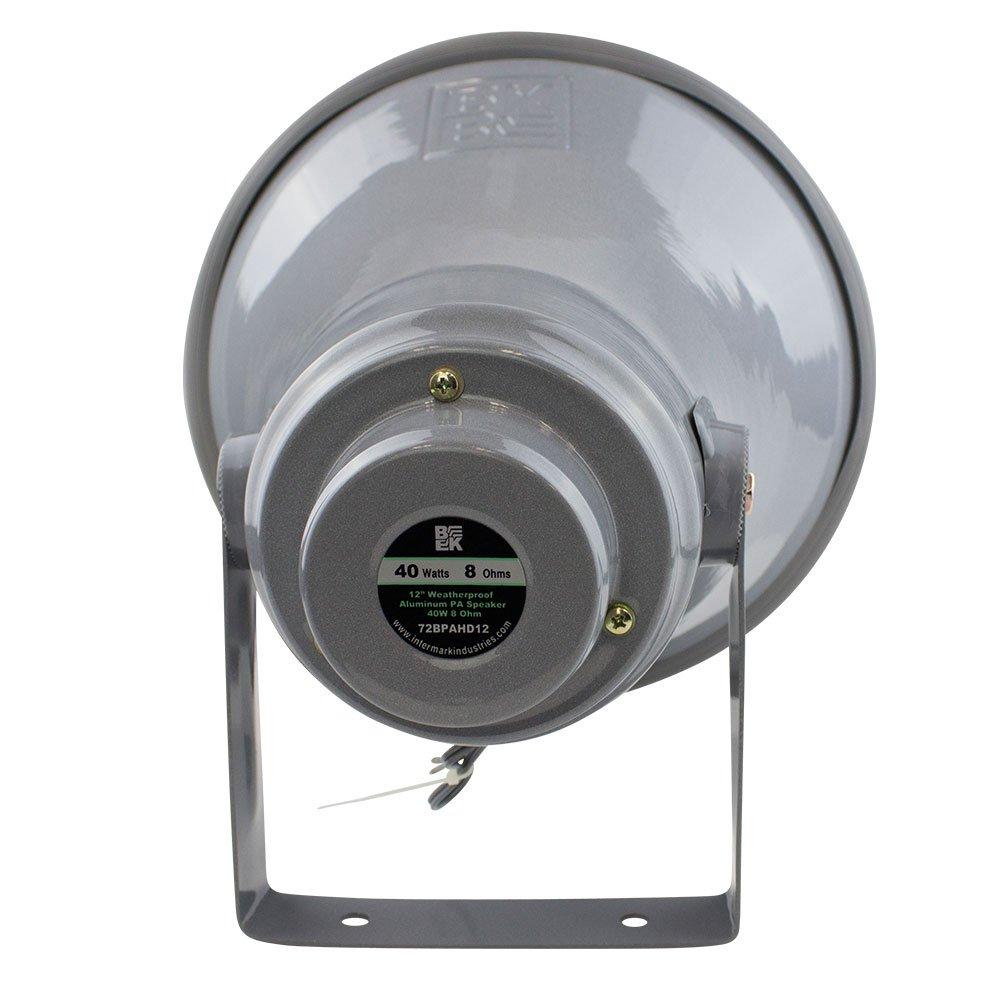 "12"" Weatherproof Aluminum PA Speaker"