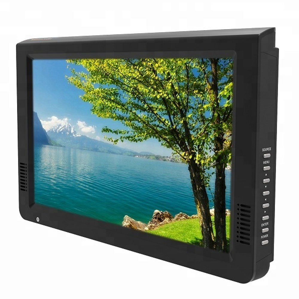 "10"" Portable/Car LCD TV with Rechargeable Battery"